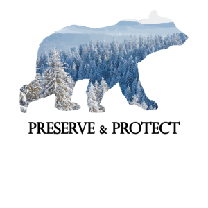Bear Preserve & Protect Climate Change Environment
