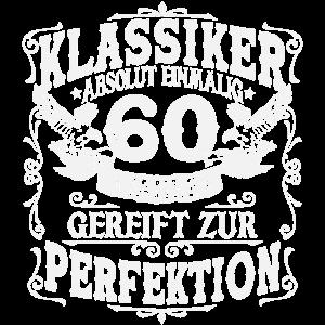 60. Geburtstag 60 Jahre Geschenk