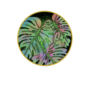 Monstera Plant colorful