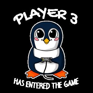 Drittes Kind Spieler 3 Schwanger Baby Pinguin