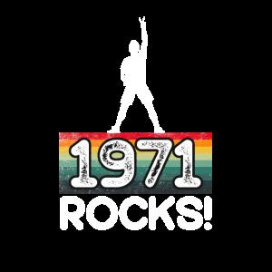 1971 rockt! Geboren 1971 als Siegerhemd
