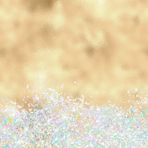 Gold Holographic Glitter Pretty Luxury Sparkling