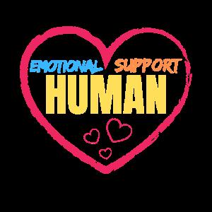 Emotionale Unterstützung Mensch