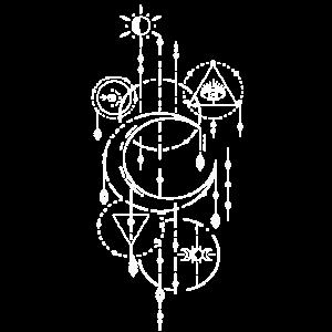 Witchcraft Tattoodesign Craft Inked Art Auge Mond