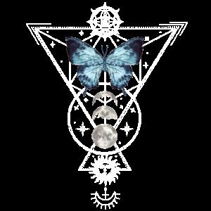 Witchcraft Tattoodesign Craft Inked Schmetterling