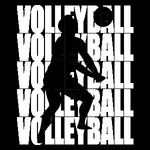 Volleyballer Tshirt Volleyball T-Shirt Geschenk