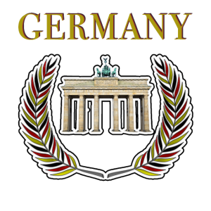 Germany Berlin Brandenburger Wimpel Deutschland