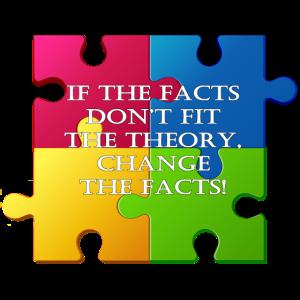 ändere die Fakten