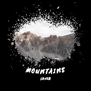Cooles Berg Motiv für alle Bergsteiger