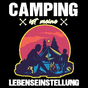 Camping Campen Wohnmobil Zelten Caravan Opa Rente