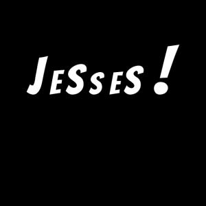Jesses! in der Sprechblase