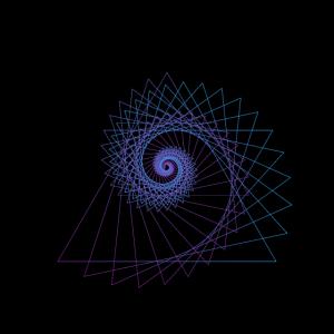 geometrische formen spirale