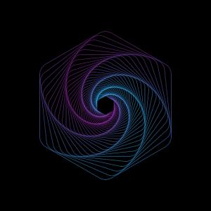 Geometrische Formen Sechseck