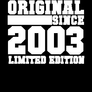 2003 18 Jahre Geburtstag 2021