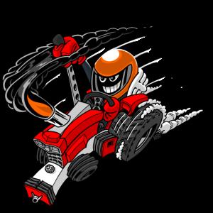0966 Traktor ziehen