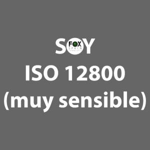 SOY ISO 12800 MUY SENSIBLE con logo
