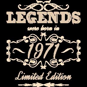Legenden wurden 1971 in limitierter Auflage geboren