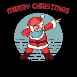 Merry Christmas Dabbing Santa