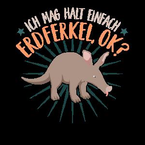 Erdferkel Ok Lustig Aardvark