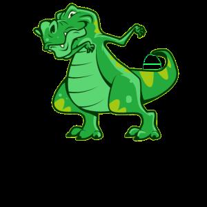 Dab Dabbing Move Dino Dinosaurier Tyrannosaurus