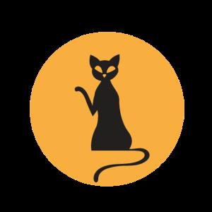 Katzenliebhaber Lustiges Tier Schwarze Katze Kostü
