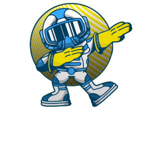 Dab Dabbing Move Astronaut Raumfahrer Kosmonaut