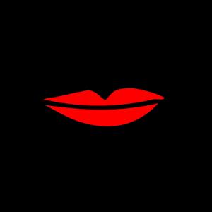 Lippen Mund Lustige Maske Gesichtsmaske Face Mask