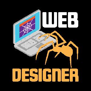 Web Designer Website Entwickler Funny Spider Web