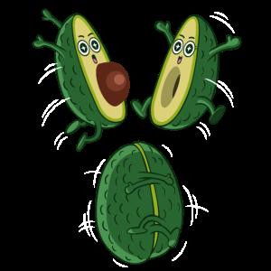 Die Avocado-Umarmung