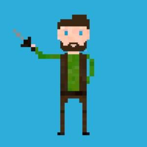 adventurer with beard