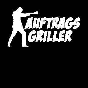 Auftragsgriller - Lustiges Grill T-Shirt -
