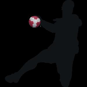 Handball Maske Handballspieler Hanballer Maske