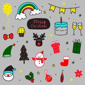 pattern merry christmas