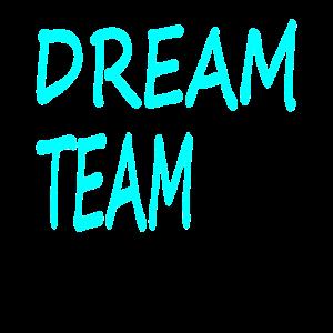 Dream team Zusammenhalt zusammen gewinnen Geschenk