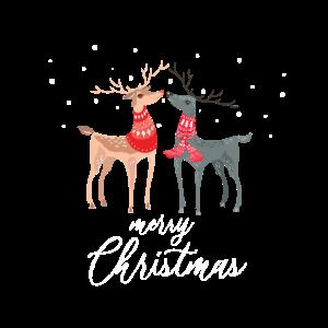 merry christmas rentiere