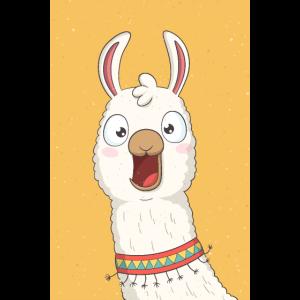 Lachendes Lama