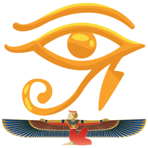Auge von Ra Auge von Ägypten Tempel ägyptische Gottheit