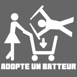 Adopte un batteur - idee cadeau batterie