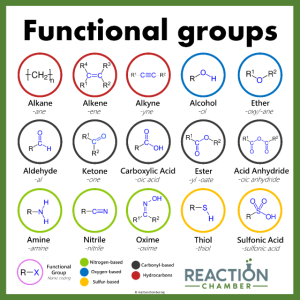 Funktionelle Gruppen Chemie