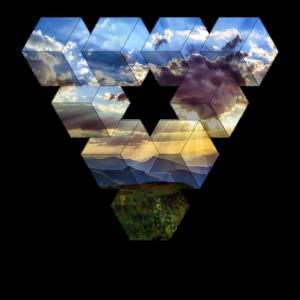 Natur Illustration Dreieck
