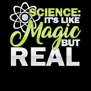 Wissenschaftler Geschenk Wissenschaft wie Magie, aber wirklich Spaß
