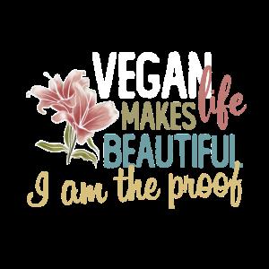 Vegan life makes beautiful