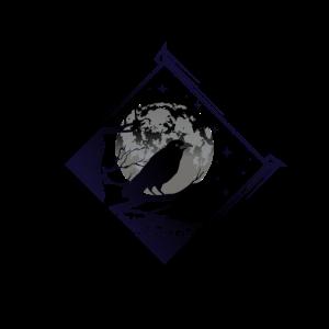 Rabe und Mond