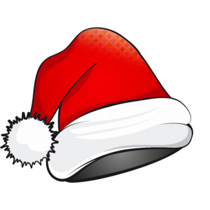 Weihnachtsmütze für Santa Claus zum Weihnachtsfest