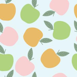 Lehrer zurück zur Schule Hals Gator bunte Äpfel