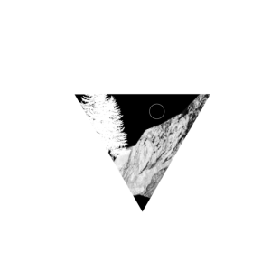 Minimalismus Line Art Minimalistisch Wandern Berge