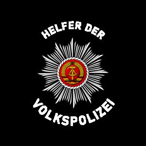 Helfer der Volkspolizei