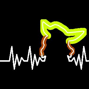 Kleines Baby Alien Heartbeat