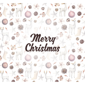 Frohe Weihnachten Gesichtsmaske - Ideales Geschen