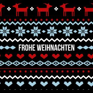Frohe Weihnachten Gesichtsmaske - Ideales Geschenk